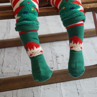 Weihnachts-Socken Elf