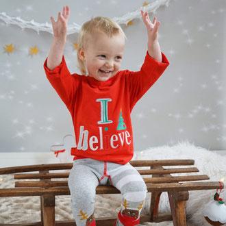 Weihnachts-Top I Believe