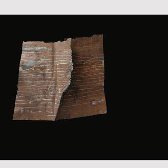 """""""Application"""" 2011 - Acier sur fond noir en bois - Mural - 115 X 90 Cm"""