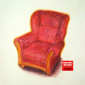 Zeichenkurs, Zeichnen mit Pastellstiften Kunstschule Düsseldorf
