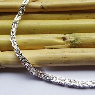 Königsketten-Bracelet in Silber 925, CHF 120.-