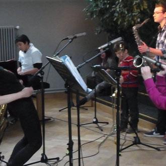 Auftritt der Big Band