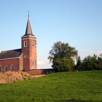 Villers-Saint-Siméon, son église St Lambert