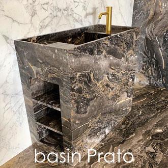 Marble basin model Prato
