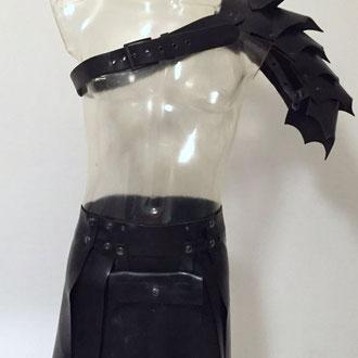 Product nr: MLA01  Leather Spauldon