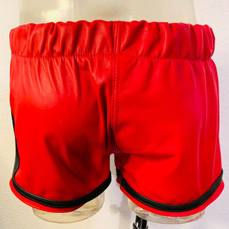 Product nr MSB01 Men's red Leather Boxing short