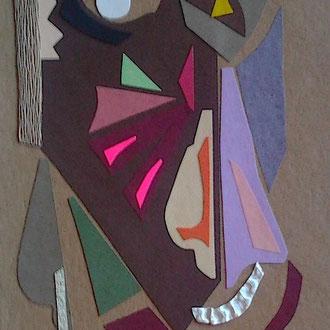 MASAI. Collage
