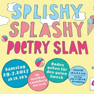Splishy Splashy Poetry Slam Christina Pichler