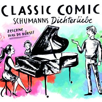 Classic Comic Schumanns Dichterliebe Christina Pichler helle Tage Fotografie & Events