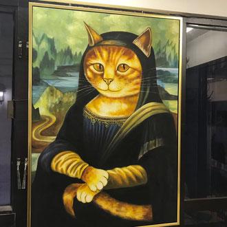 Bild im Katzencafé