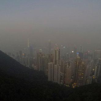 Aussicht von The Peak