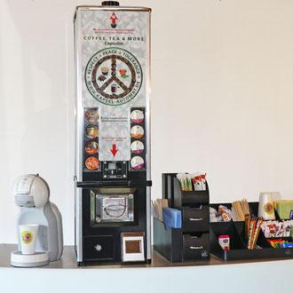 Kaffee-Kapsel-Verkaufsautomat