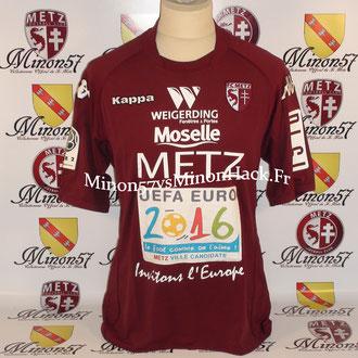 maillot porté par CARDY Saison 2009/2010 FC METZ