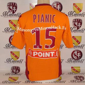 Maillot Porté PJANIC Coupe de la ligue 2008 FC METZ