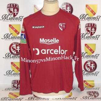 maillot porté par CARDY Saison 2006/2007 FC METZ