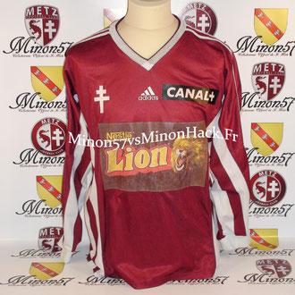 Maillot Porté Coupe de la ligue 1999 FC METZ