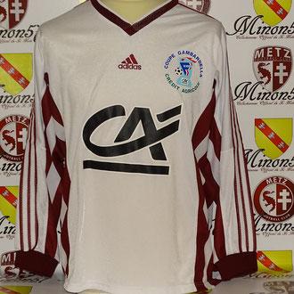 Finale coupe Gambardella 2000-2001 FC Metz vs Stade Malherbe Caen.