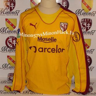 maillot porté par TUM Saison 2005/2006 FC METZ