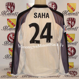 maillot porté SAHA Saison 1997/1998 FC METZ