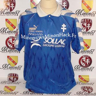 maillot porté PIRES Saison 1997/1998 FC METZ