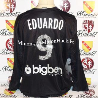 maillot UNIQUE porté par EDUARDO Saison 2013/2014 FC METZ