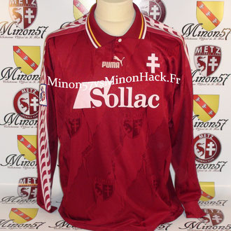 maillot porté R.PIRES Saison 1996/1997 FC METZ