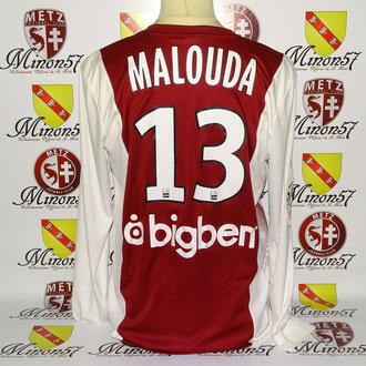 Maillot porté par F. Malouda