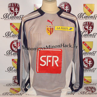 Maillot Porté LIEBUS Coupe de la ligue 2001 FC METZ