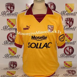 maillot porté THIAW Saison 2003/2004 FC METZ