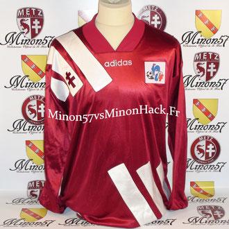 Maillot Porté Coupe de la ligue 1995 FC METZ