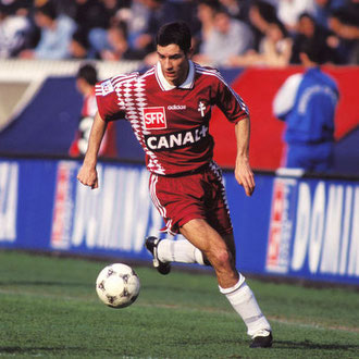 Maillot Porté S.POUGET Finale Coupe de la ligue 1996 FC METZ