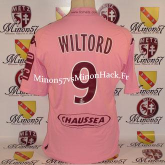 maillot porté par WILTORD Saison 2009/2010 FC METZ
