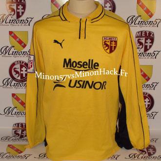 maillot porté LECA Saison 1999/2000 FC METZ