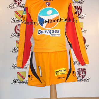 Ensemble Porté MARICHEZ Coupe de la ligue 2007 FC METZ