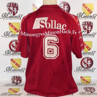 Maillot porté par Cyril Serredszum Saison 1994/1995 FC METZ