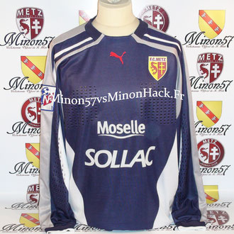maillot porté MONDRAGON Saison 2000/2001 FC METZ