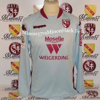 maillot porté par JOHANSEN Saison 2008/2009 FC METZ