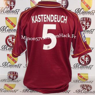 maillot porté KASTENDEUCH Saison 1999/2000 FC METZ