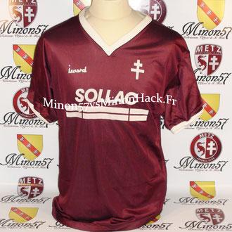 Maillot porté par Carmelo Micciche Saison 1987/1988 FC METZ