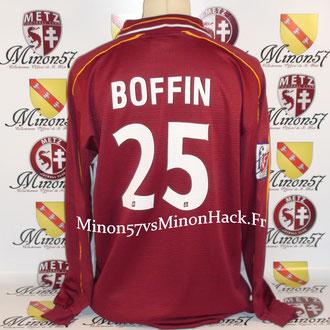maillot porté BOFFIN Saison 1999/2000 FC METZ