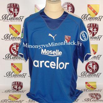 maillot porté par AHN Saison 2005/2006 FC METZ