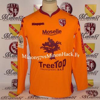 maillot porté par DELL Saison 2009/2010 FC METZ