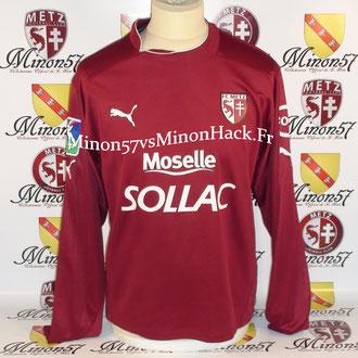 maillot porté TUM Saison 2004/2005 FC METZ
