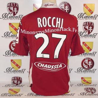maillot porté par ROCCHI Saison 2008/2009 FC METZ