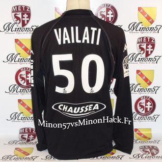 maillot porté par VAILATI Saison 2008/2009 FC METZ