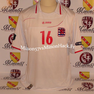 Maillot Porté  France vs Luxembourg 2010
