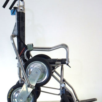 carrozzina montascale per disabili INVO 2 , in posa