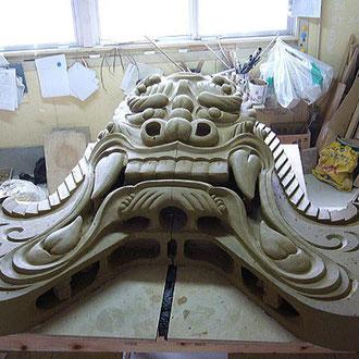 Onigawara roof gargoyle