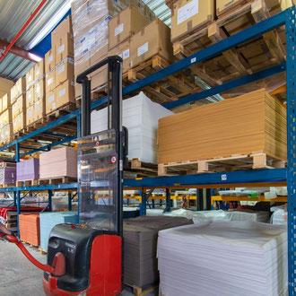 Industrie textile Hauts-de-France entrepôts matières  textiles