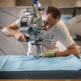 Découpe textile industrie Hauts-de-France